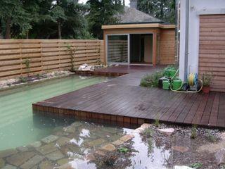 Schwimmteich / Sauna / Eingang TEAM ADELFINGER