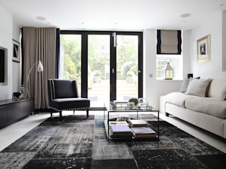 Fulham House by Peek Architecture. Alex Maguire Photography Modern living room