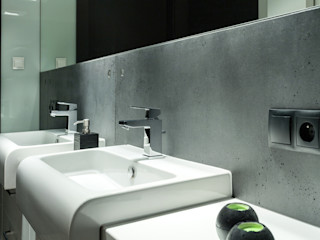 Contractors モダンスタイルの お風呂