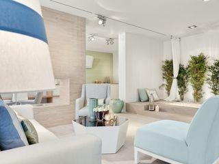 Catarina Batista Studio Modern living room Ceramic