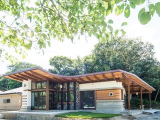 パパママハウス株式会社 現代房屋設計點子、靈感 & 圖片
