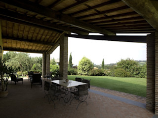 Studio Tecnico Fanucchi Landelijke balkons, veranda's en terrassen