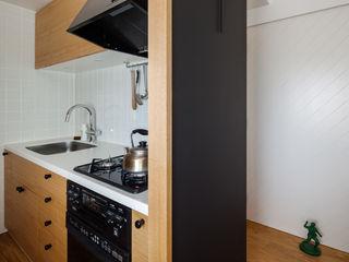 A residence in Shibuya sorama me Inc. Kitchen