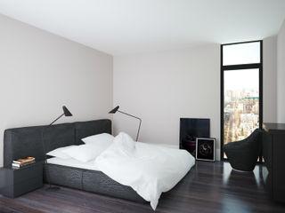APRIL DESIGN インダストリアルスタイルの 寝室