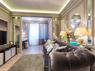Tony House Interior Design & Decoration Nowoczesny salon