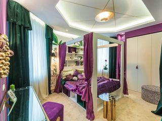 Tony House Interior Design & Decoration Eklektyczna sypialnia