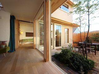 新井アトリエ一級建築士事務所 Modern Living Room