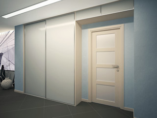 Polovets design studio Balkon, Beranda & Teras Minimalis