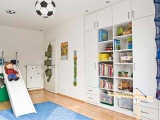 schrankwerk.de Nursery/kid's roomWardrobes & closets Engineered Wood White