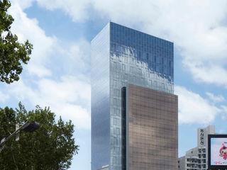 ADF Architects Modern hospitals Silver/Gold Metallic/Silver