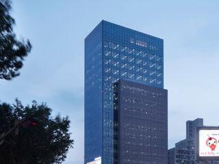 ADF Architects Modern hospitals Copper/Bronze/Brass Metallic/Silver