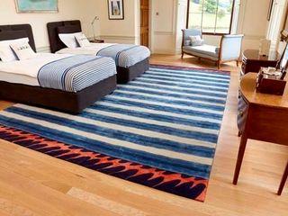 Deirdre Dyson 2013 DESIGNS FROM THE DEEP rug collection Deirdre Dyson Carpets Ltd Chambre moderne