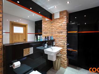 COCO Pracownia projektowania wnętrz Industrial style bathroom
