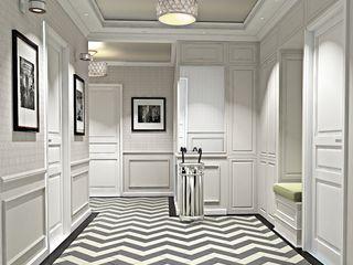 Ivory Studio Classic style corridor, hallway and stairs