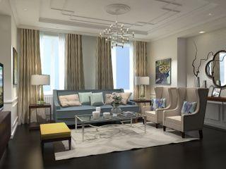 Ivory Studio Living room