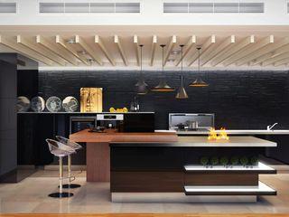 Sweet Home Design Minimalist kitchen