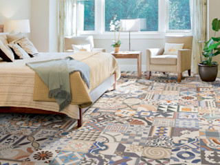 Shoreditch The Baked Tile Company Eclectic style bedroom