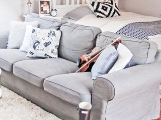 YNOX Architektura Wnętrz Scandinavian style living room