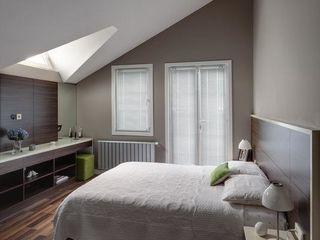NUUN MİMARLIK BedroomBeds & headboards