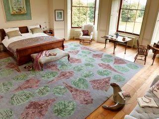 Deirdre Dyson 2012 WILD FLOWERS rug collection Deirdre Dyson Carpets Ltd Chambre classique
