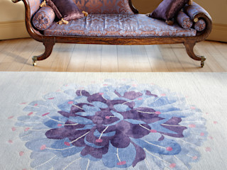 Deirdre Dyson 2012 WILD FLOWERS rug collection Deirdre Dyson Carpets Ltd Salon classique