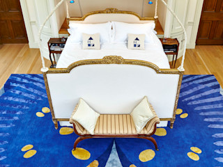Deirdre Dyson BUTTERFLY rug collection Deirdre Dyson Carpets Ltd Chambre classique