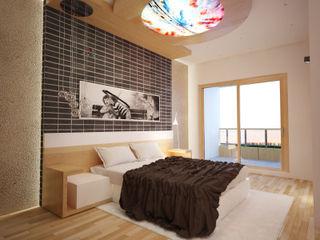 İNDEKSA Mimarlık İç Mimarlık İnşaat Taahüt Ltd.Şti. BedroomBedside tables