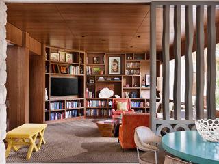 Maywood Residence Hugh Jefferson Randolph Architects Modern Study Room and Home Office