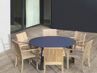 Mobiliario de jardines y exteriores Muebles caparros Jardines de estilo tropical