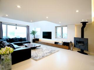 HBA-rchitects Salon minimaliste