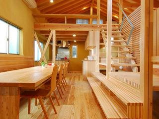 豊田空間デザイン室 一級建築士事務所 Comedores de estilo ecléctico