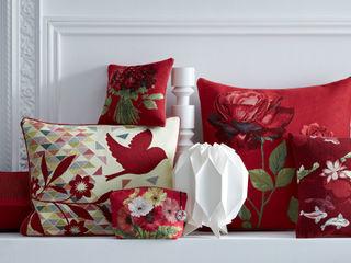 Cushions - Passion Red Tissage Art de Lys HouseholdTextiles