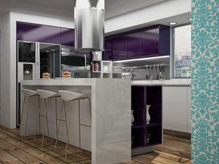 Citlali Villarreal Interiorismo & Diseño Modern kitchen