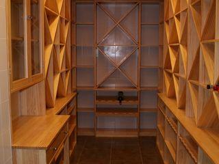 Estanterías para cava de vinos Adrados taller de ebanistería Bodegas
