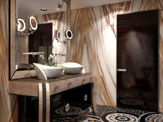 Sweet Home Design Eclectic style bathroom
