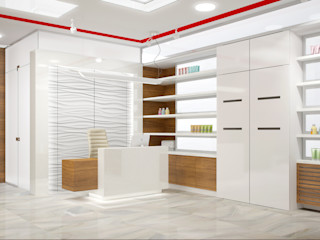 INCUBE Алексея Щербачёва Commercial Spaces