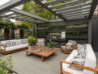 Plena Madeiras Nobres Jardines de estilo moderno