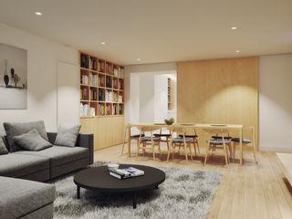 House in Lavra, Matosinhos homify Minimalist living room