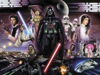 Star Wars Photomural 'Darth Vader Collage' ref 8-482 Paper Moon Paredes y pisosPapeles pintados