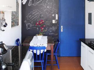 Red Studio Modern Kitchen