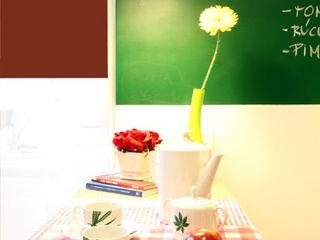 Red Studio KitchenBench tops