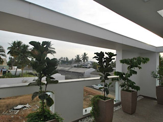 Muraliarchitects Moderner Balkon, Veranda & Terrasse