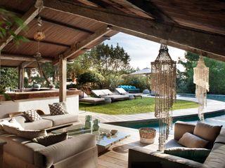 Pool House TG Studio Piscinas de estilo mediterráneo