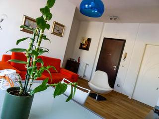 AI2 Home Luca Bucciantini Architettura d' interni Soggiorno in stile asiatico