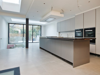 Parsons Green Basement Dig out and Extension Balance Property Ltd Modern kitchen