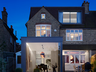 Creighton Avenue Andrew Mulroy Architects Modern houses