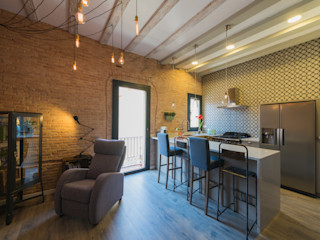Global Projects Industrial style kitchen