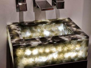 Recycle Glass Sink Keir Townsend Ltd. Ванная комнатаРаковины