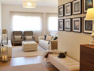 T2 Arquitectura & Interiores Eclectic style corridor, hallway & stairs