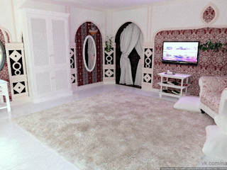 Nada-Design Студия дизайна. Asian style bedroom